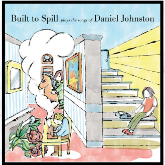 daniel johnston built to spill album art